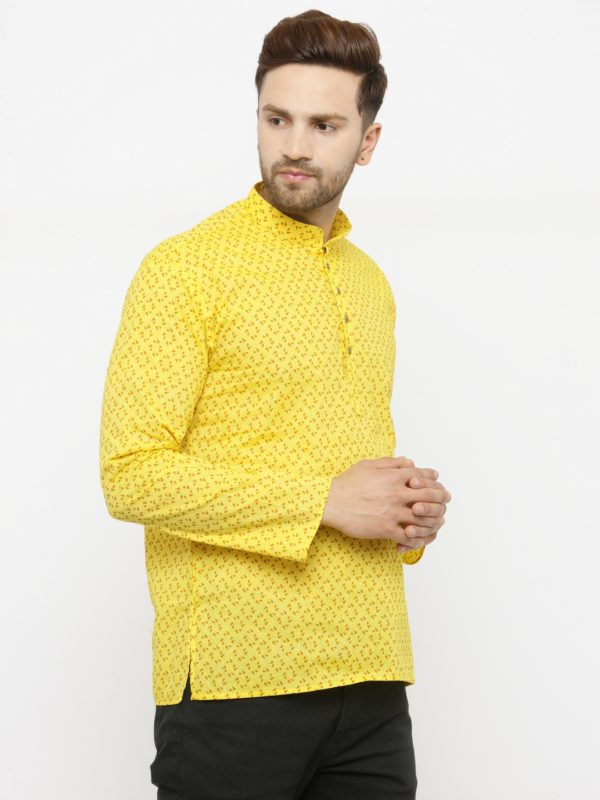 yellow kurta