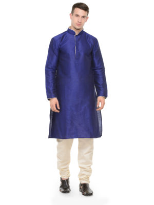 royal blue kurta set